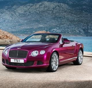 Bentley Continental GT Speed Convertible - Obrázkek zdarma pro iPad 2