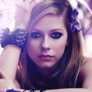 Avril Lavigne Portrait - Obrázkek zdarma pro 2048x2048