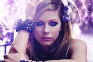 Avril Lavigne Portrait - Obrázkek zdarma pro Nokia Asha 200