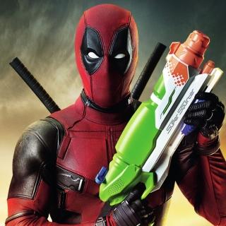 Deadpool - Obrázkek zdarma pro 1024x1024