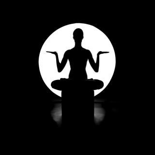 Moonlight Yoga - Obrázkek zdarma pro iPad 2