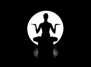 Moonlight Yoga - Obrázkek zdarma pro 1152x864