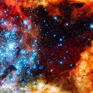 Starry Space - Obrázkek zdarma pro 128x128