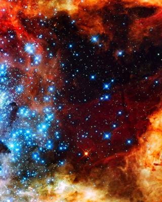 Starry Space - Obrázkek zdarma pro Nokia Asha 306