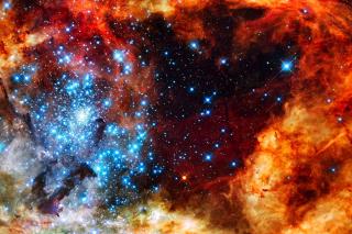 Starry Space - Obrázkek zdarma pro Nokia Asha 210
