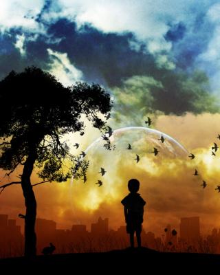 Lonely Boy - Obrázkek zdarma pro 360x640