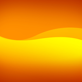 Orange Bending Lines - Obrázkek zdarma pro 1024x1024