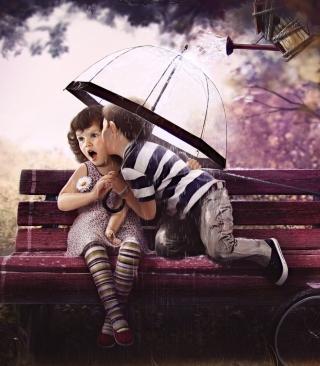Baby Love - Obrázkek zdarma pro Nokia Asha 203