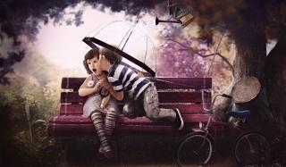 Baby Love - Obrázkek zdarma pro 1366x768