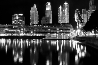 Madero Harbour In Buenos Aires Wallpaper for Android, iPhone and iPad