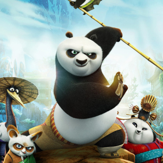 Kung Fu Panda 3 - Obrázkek zdarma pro iPad Air