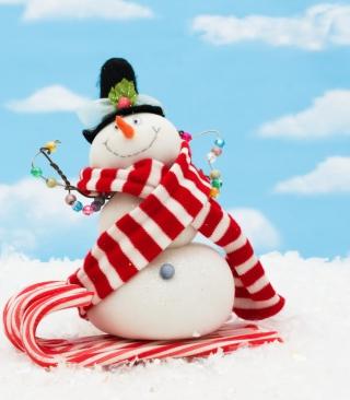 Cool Snowman - Obrázkek zdarma pro 480x800