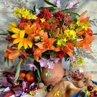Autumn Bouquet - Obrázkek zdarma pro 1024x1024