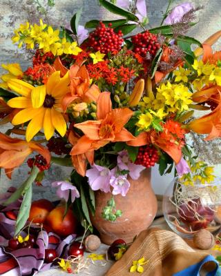 Autumn Bouquet - Obrázkek zdarma pro Nokia X1-00