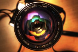 Camera Lens Background for Android, iPhone and iPad