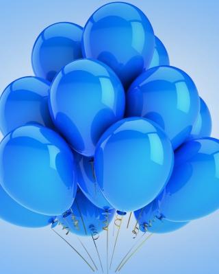 Blue Balloons - Obrázkek zdarma pro Nokia X1-00
