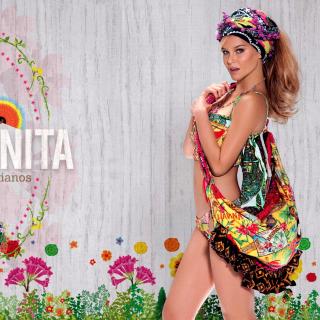 Agua Bendita Swimwear - Obrázkek zdarma pro iPad mini 2