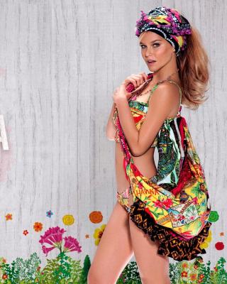 Agua Bendita Swimwear - Obrázkek zdarma pro 240x320