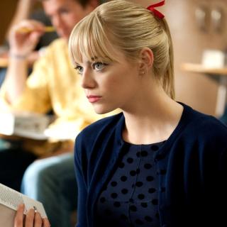 Emma Stone in Spider Man - Obrázkek zdarma pro iPad