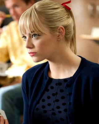 Emma Stone in Spider Man - Obrázkek zdarma pro Nokia C2-05