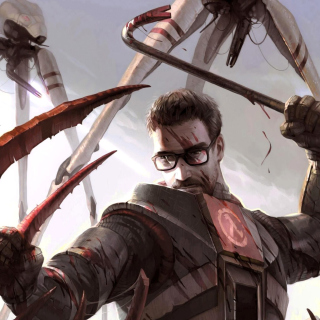 Gordon Freeman in Half Life Game - Obrázkek zdarma pro iPad mini