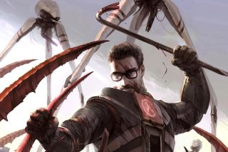 Gordon Freeman in Half Life Game Background for Android, iPhone and iPad