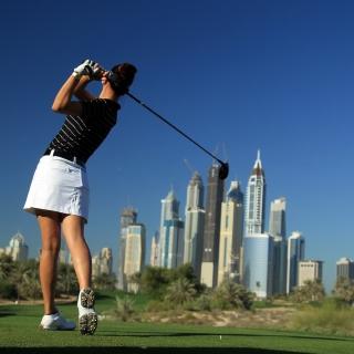 Golf - Obrázkek zdarma pro iPad Air