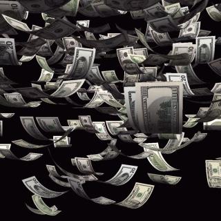Dollars Cash - Obrázkek zdarma pro iPad 2