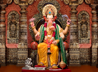 Shree Ganesh - Obrázkek zdarma pro Android 320x480