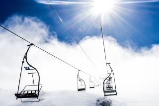 Free Ski Ropeway Picture for Android, iPhone and iPad