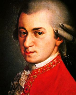 Wolfgang Amadeus Mozart - Obrázkek zdarma pro Nokia C2-05