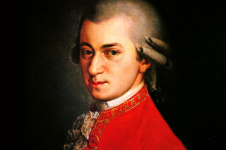 Wolfgang Amadeus Mozart Wallpaper for Huawei M865