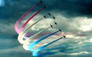 Air Show Background for Android, iPhone and iPad