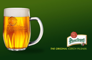 Free Czech Original Beer - Pilsner Urquell Picture for Android, iPhone and iPad