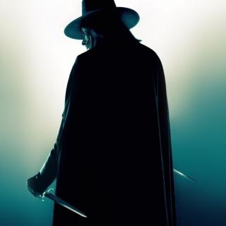 V for Vendetta - Obrázkek zdarma pro 1024x1024