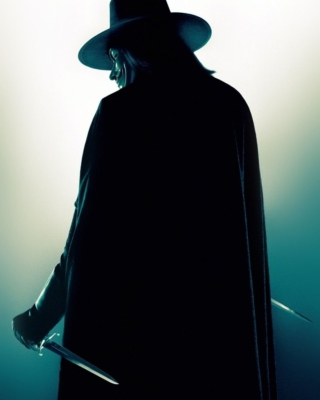 V for Vendetta - Obrázkek zdarma pro Nokia C5-05