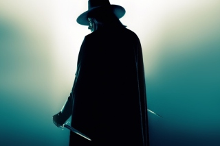 V for Vendetta - Obrázkek zdarma pro Nokia Asha 200