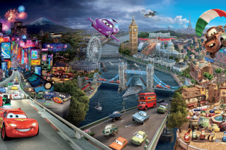 Cars Traveling - Obrázkek zdarma pro LG P500 Optimus One