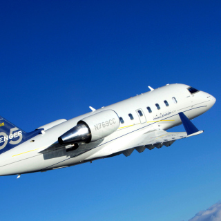 Bombardier Challenger 605, Aviation - Obrázkek zdarma pro iPad