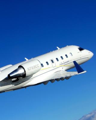 Bombardier Challenger 605, Aviation - Obrázkek zdarma pro Nokia Asha 202