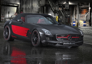 Mercedes-Benz SLS AMG Picture for Android, iPhone and iPad