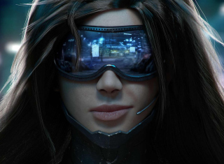 Free Cyberpunk Girl Picture for Android, iPhone and iPad