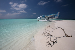 Maldivian Air Taxi Wallpaper for Android, iPhone and iPad