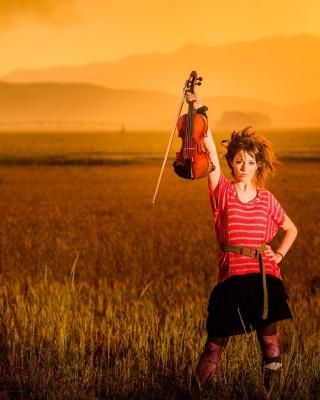 Violin Girl - Obrázkek zdarma pro 352x416