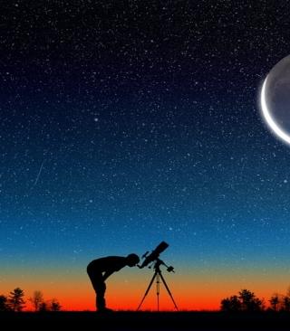 Stargazing - Obrázkek zdarma pro iPhone 4