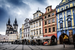 Prague Old Town Square Background for Android, iPhone and iPad