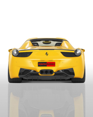 Ferrari 458 Spider from NOVITEC ROSSO - Obrázkek zdarma pro 360x480