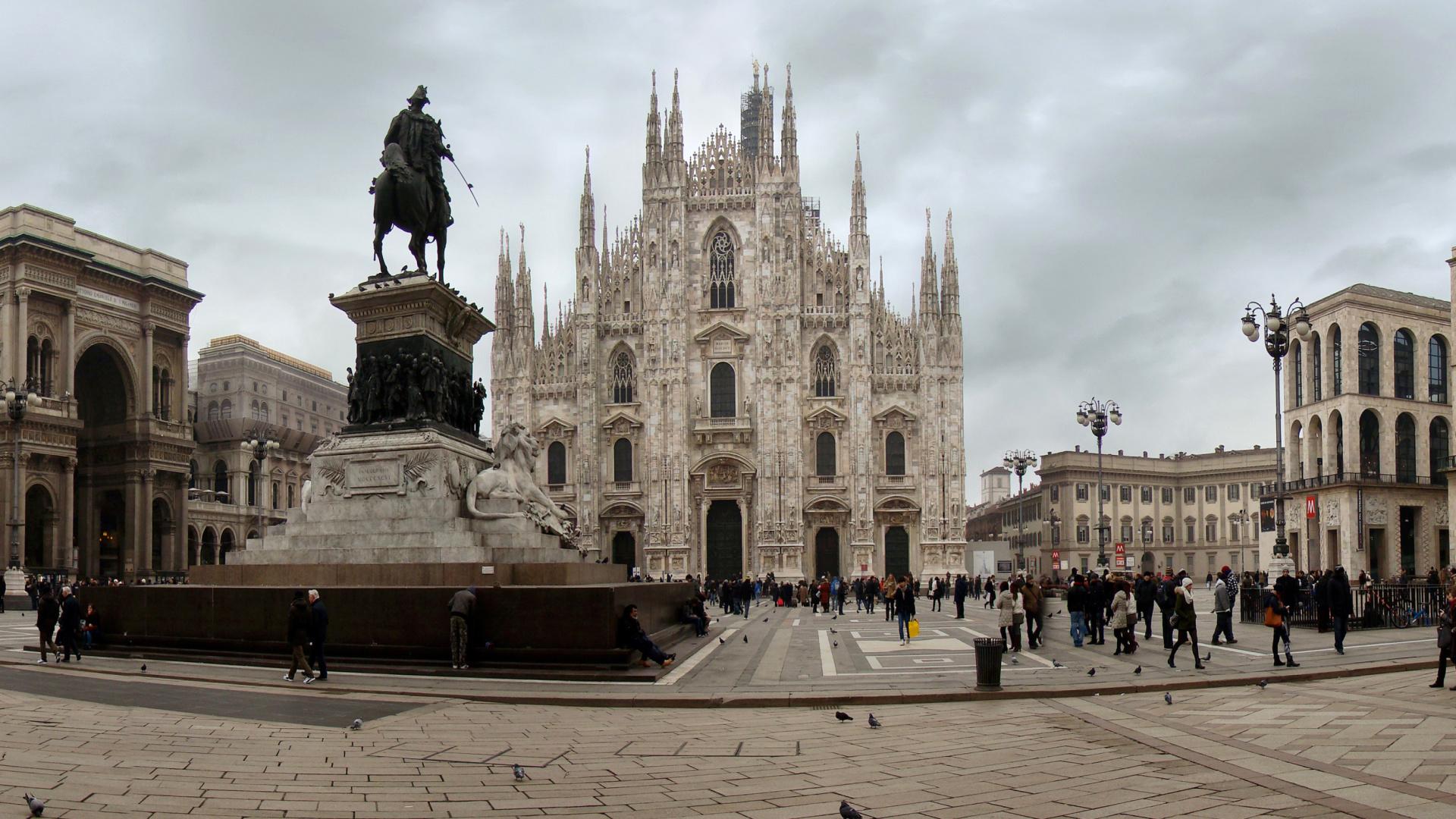 Milan cathedral duomo di milano wallpaper for desktop for Wallpaper milano