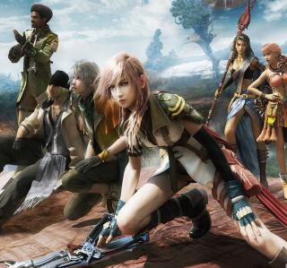 Final Fantasy XIII - Obrázkek zdarma pro iPad Air