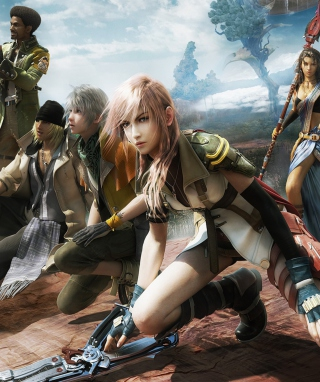 Final Fantasy XIII - Obrázkek zdarma pro Nokia 5800 XpressMusic